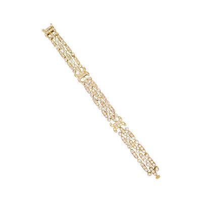 Van Cleef Arpels Van Cleef Arpels Gold and Diamond Bracelet