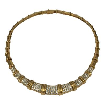 Van Cleef Arpels Van Cleef Arpels Gold and Diamond Necklace