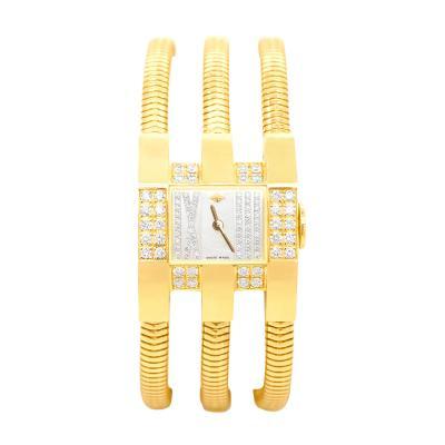 Van Cleef Arpels Van Cleef Arpels Gold and Diamonds Ladies Wrist Watch