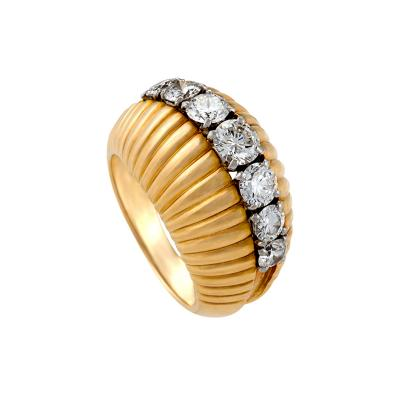 Van Cleef Arpels Van Cleef Arpels Mid 20th Century Diamond and Gold Ring