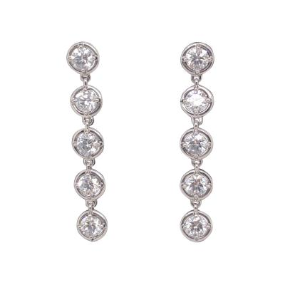 Van Cleef Arpels Van Cleef Arpels Palmyre diamond earrings