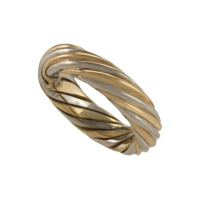Van Cleef Arpels Van Cleef Arpels Paris Twisted Gold Ring Band