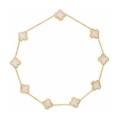 Van Cleef Arpels Van Cleef Arpels Pure Alhambra Necklace