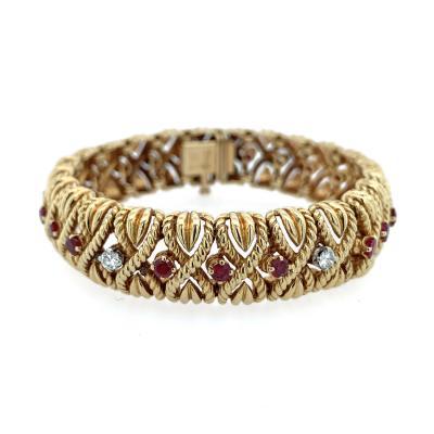 Van Cleef Arpels Van Cleef Arpels Ruby and Diamond Bracelet