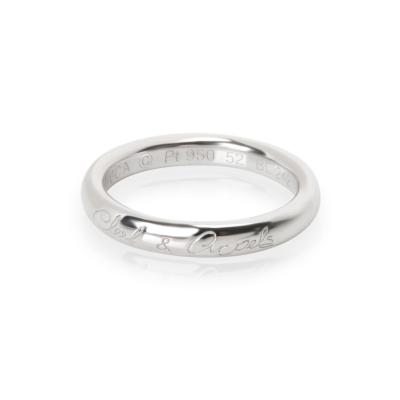 Van Cleef Arpels Van Cleef Arpels Tendrement Signature wedding band Band in Platinum