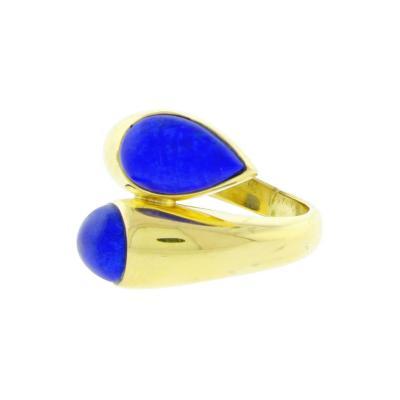 Van Cleef Arpels Van Cleef Arpels Vintage Lapis Lazuli Yellow Gold Ring
