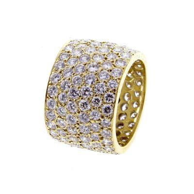 Van Cleef Arpels Van Cleef Arpels Wide Pav Diamond Band Ring