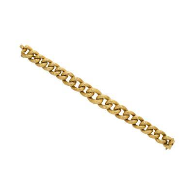 Van Cleef Arpels Vintage Van Cleef Textured Bracelet