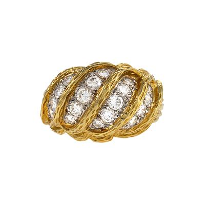 Van Cleef and Arpels Gold and Diamond Ring by Van Cleef Arpels
