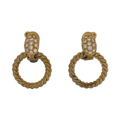 Van Cleef and Arpels Van Cleef Arpels interchangeable diamond earrings