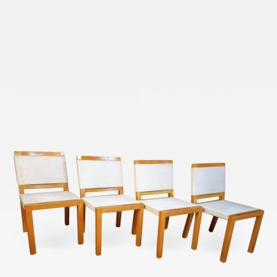 Van Keppel Green Four String Chairs by Van Keppel Green of Beverly Hills 1940s