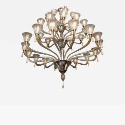 Venfield Custom 3 Tier Extra Large Modern Venetian Chandelier