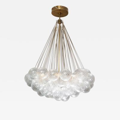 Venfield Murano Floating Clustered Globe Chandelier
