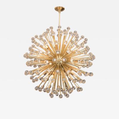 Venfield Stunning Huge Murano Glass Ball Sputnik Chandelier