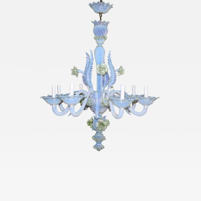 Venice Murano Co Murano Glass Ciocca Chandelier