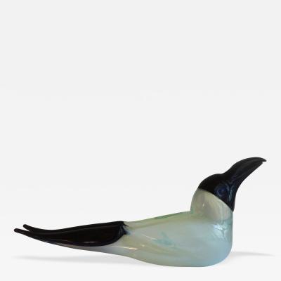 Venice Murano Co Original Glass Seagull Bird by Murano circa 1975