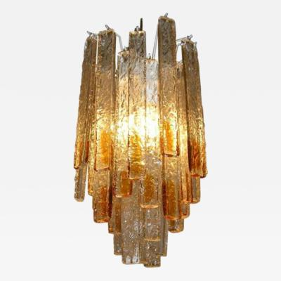 Venini A Small Hanging Light Fixture by Venini