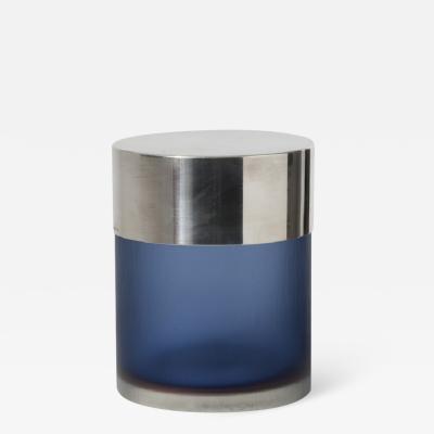 Venini Blue Glass Box