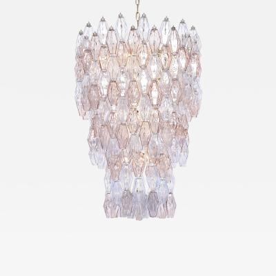 Venini Large Murano chandelier by Carlo Scarpa for Venini