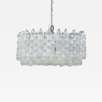 Venini Mid Century Modern Edited by Venini Italian Ceiling Lamp