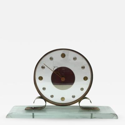 Venini Mid Century Modern Table Clock Iatos Per Venini