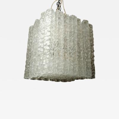 Venini Mid Century Murano Glass Chandelier by Venini
