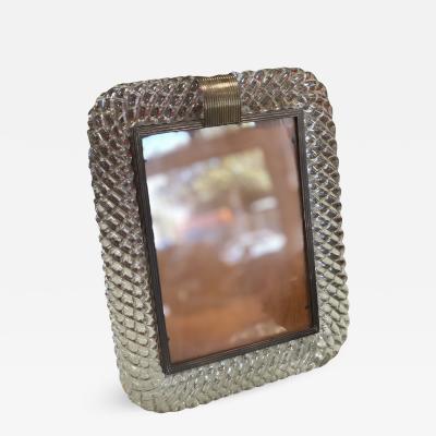 Venini Murano Venini Glass Frame Italy 1940s