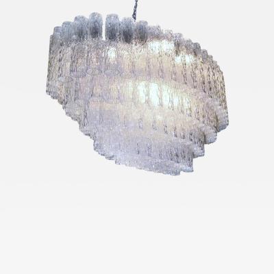 Venini Murano Venini oval chandelier