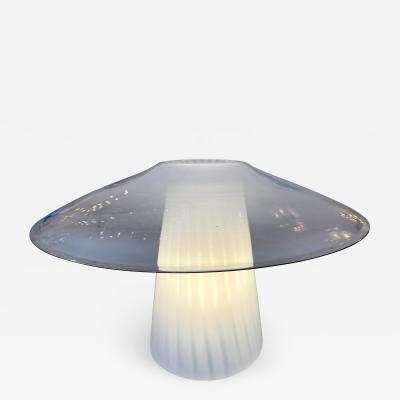 Venini Mushroom Murano Glass Lamp Italy 1970s
