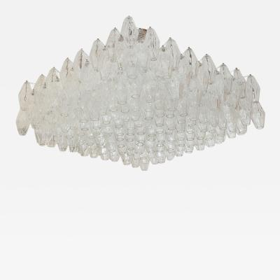 Venini POLYHEDRAL GLASS PRISM CHANDELIER by Venini