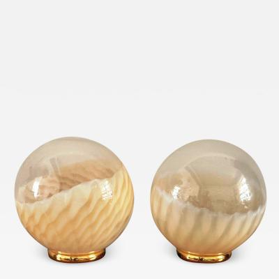Venini Pair of Table Lamps