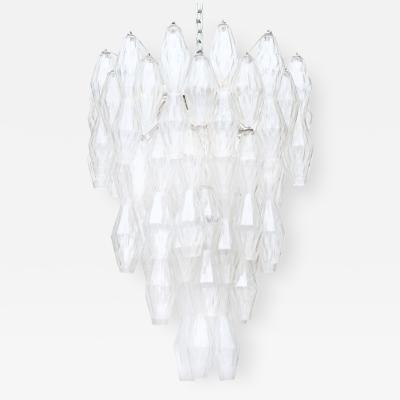 Venini Rare Poliedri Hanging Fixture by Venini