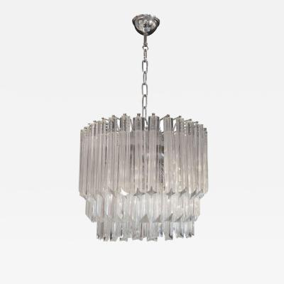 Venini Stacked Venini Chandelier
