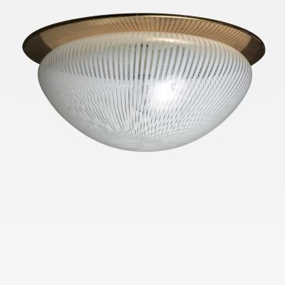 Venini Tessuto Lamp Manufactured by Venini