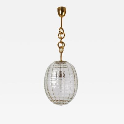 Venini Venini Blown Glass Lantern Italy 1950s