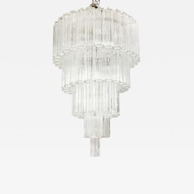 Venini Venini Five Tier Tronchi Chandelier
