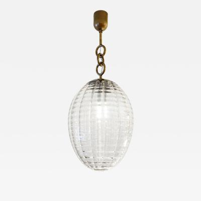 Venini Venini Murano Glass Pendant Italy 1940s