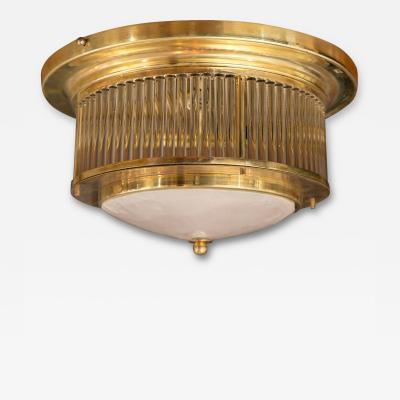 Venini Vintage Ceiling Fixture by Venini Signed pair available