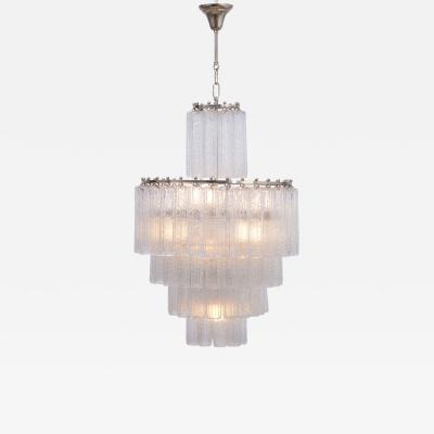 Venini Vintage Italian Glass Chandelier by Venini
