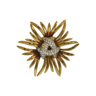 Verdura Verdura Diamond Ray Brooch