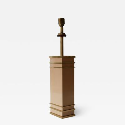 Vereinigte Werkst tten F r Kunst Im Handwerk Monumental Mid Century Modern Table Lamp by Vereinigte Werkst tten Germany
