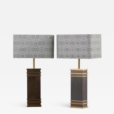 Vereinigte Werkst tten M nchen Pair of Monumental Midcentury Table Lamps by Vereinigte Werkst tten Germany