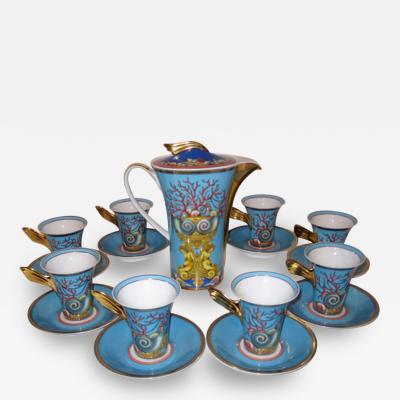 Versace Coffee Tea Service Versace for Rosenthal Les Tresors De La Mer