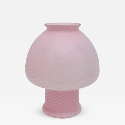 Vetri Murano Vetri Murano Pink Glass Table Lamp