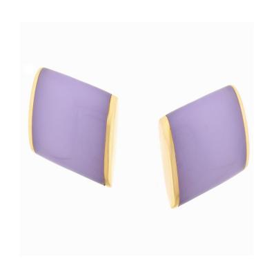 Vhernier Vhernier Plateau Chalcodney Rose Gold Earrings
