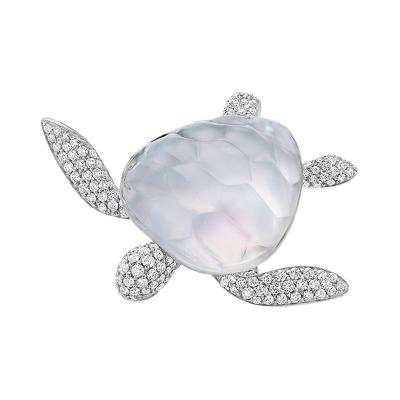 Vhernier Vhernier Sea Turtle Brooch