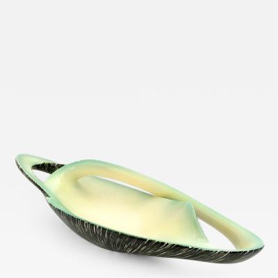 Vibi Stunning Sinuous Ceramic Centerpiece by Vibi Italy 1950s