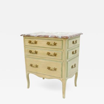 Victoria Son Louis XV Style Night Table With Drawers