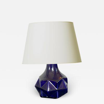 Vinsare Petite Art Deco Lamp with Diamond Facet Design by Vinsare