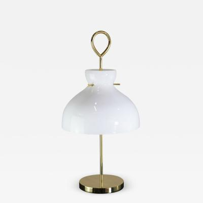 Vintage Domus Collection table lamp in the style of Ignazio Gardella new production